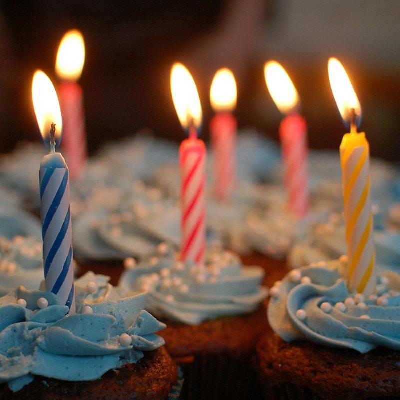 anniversaire bougies événements privés