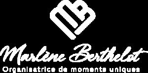 Logo blanc Marlène Berthelot