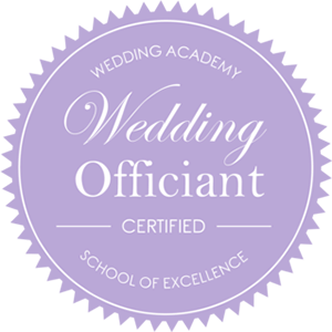 Marlène Berthelot certificat wedding officiant par Wedding Academy