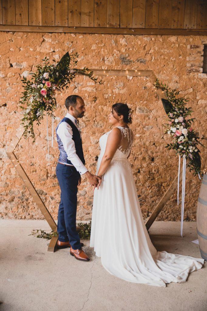Mariage guinguette chic cérémonie laïque
