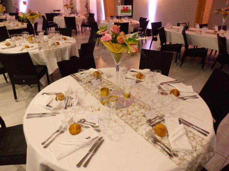 M & J-Noces d'or-déco table