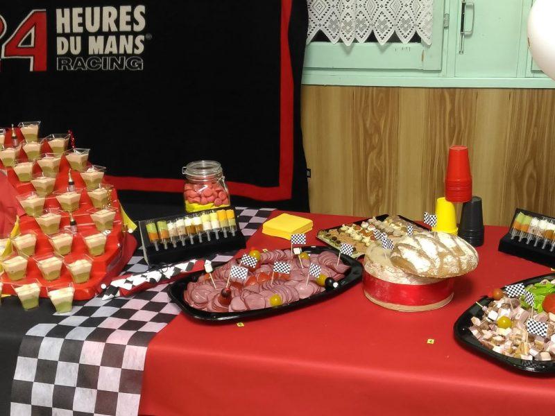 Retraite - Ferrari - buffet apéro