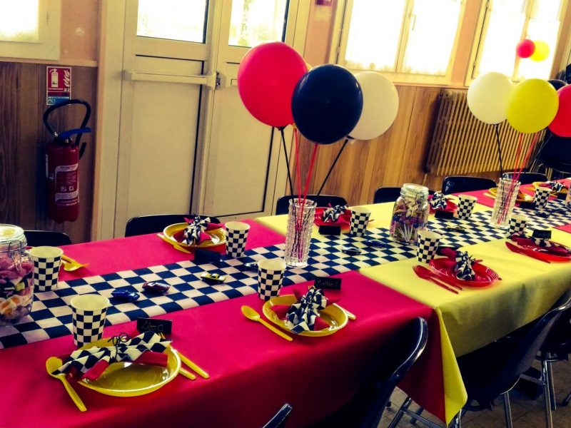 Retraite - Ferrari - table enfant