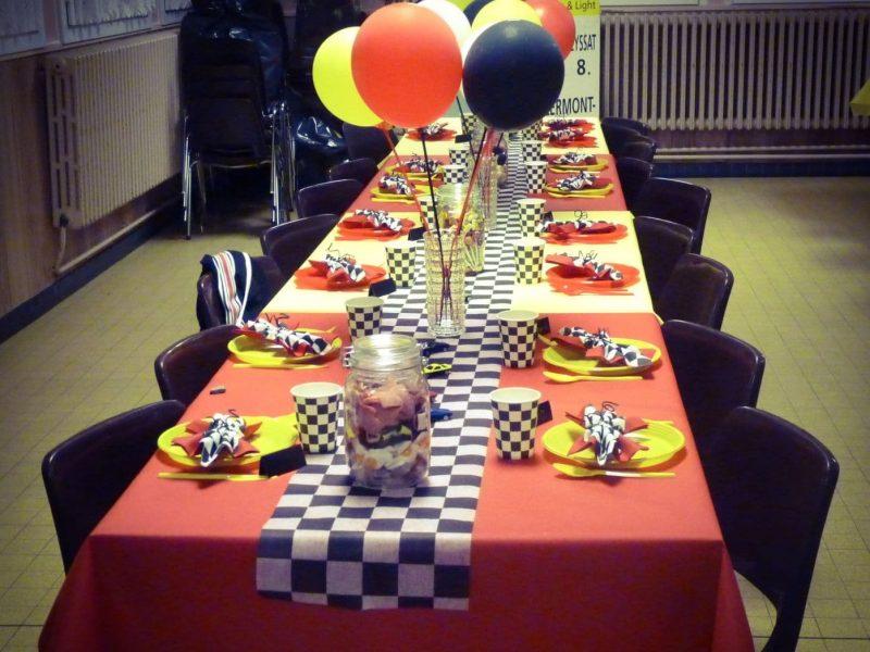 Retraite - Ferrari - table enfants