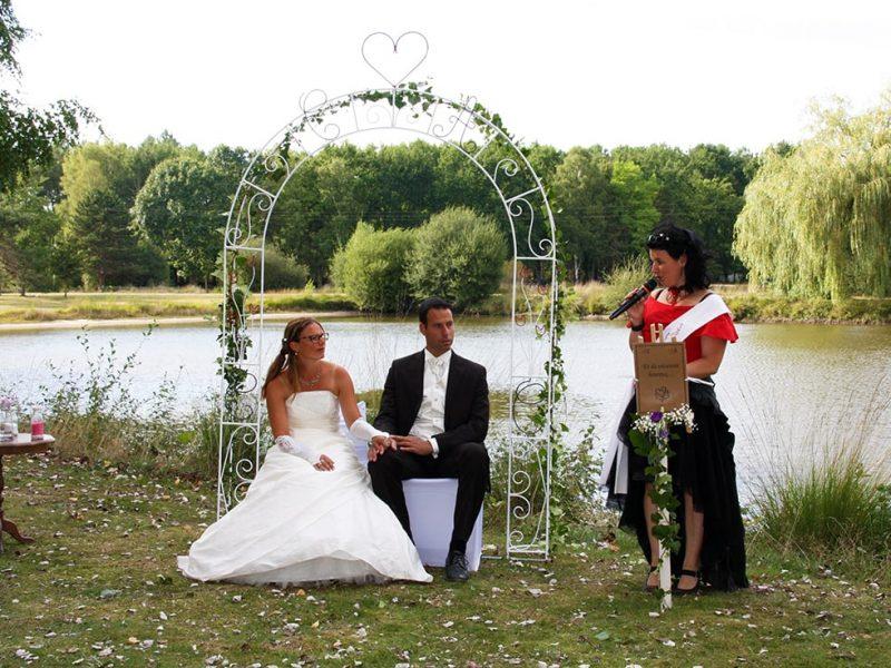 anniversaire mariage Coralie Aurélien cérémonie