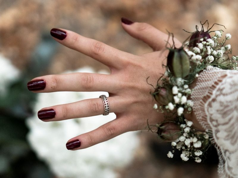 inspiration mariage bracelet fleurs