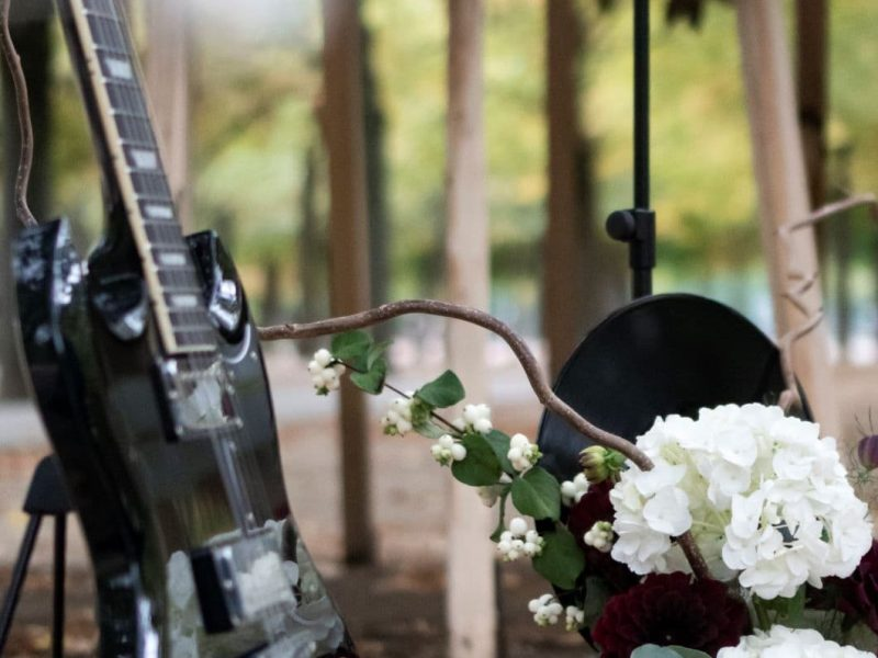 inspiration mariage guitare